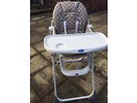 Highchair childrens Chicco