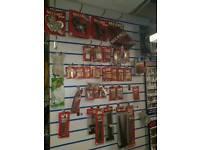 Ironmongery items