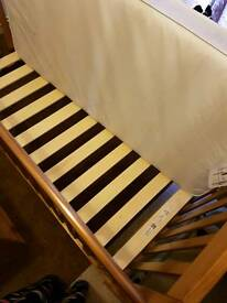 Like new Cot bed