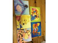 Winnie the Pooh canvas pictures