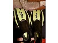 Scuba diving fins, used for sale  Devon
