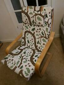 Easy arm chair