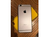 iphone 6 unlocked 16 GB Good working condition with cases