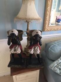 Reporduction Antique Style Blackamoor Figures