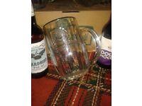 **** ORIGINAL PILSNER URQUELL PINT BEER GLASSES ****