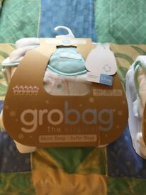 Baby sleeping bags, Grobag, 2 NEW