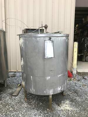 300 Gallon Stainless Steel Insulated Processbatch Mixing Tank