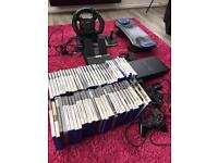 Sony PlayStation 2 With 62 Games and accesories