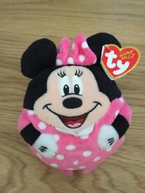 Minnie Mouse - TY Beanie Ballz