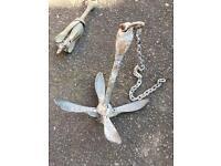Boat anchor 3.2kg foldable