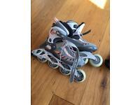 Inline skates women's size UK 8