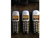 GIGASET A165 CORDLESS PHONES