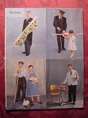 REALITES February 1959 FRANCE FRENCH SOCIETY WINE covid 19 (Monthly Wine Club coronavirus)