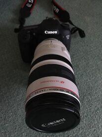 Canon 7D Bundle (100-400 L Lens, Bag, 55mm Lens)