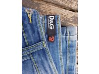D&G Embroidered Jeans. Sz 29