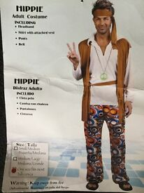 Hippy fancy dress costume(adult)