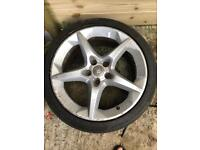 """Re advertised due to time wasters 18"""" alloys"""