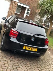 BMW 1 SERIES, NEW MOT, 2 YEARS LEFT ON SERVICE PLAN, 3 MONTH WARRANTY, LOW MILAGE, SPORT