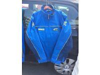 Brand new Subaru coat and fleece