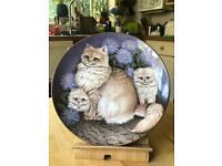 Decorative collectors plate