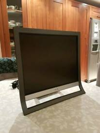"Sony 19"" LCD Monitor w/cables"