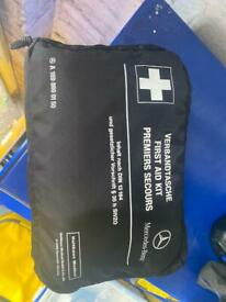 Merceded first aid kit