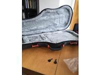 Techra hard guitar case