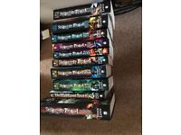 Set of 10 Skullduggery Pleasant Books. Excellent condition.