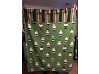 Football Curtains, Magnetic Noticeboard and Storage Boxes