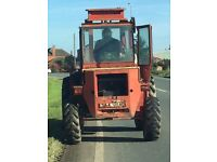 Manitou mb25p Rough Terrain Forklift not jcb or sanderson