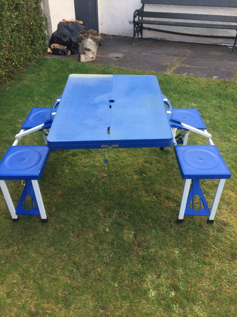 4 Person Collapsible Picnic Table In Newport On Tay Fife Gumtree