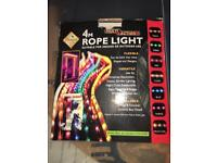 Premier. 4m. Rope lights. Suitable for indoor or outdoor use can be bent into many shapes