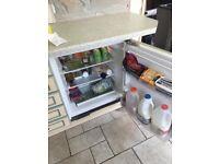 fridge freezer cooker & hob