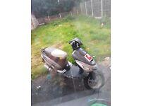 Moped 50cc 2013 plate 12 month mot