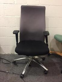 2 office chairs to be collected together