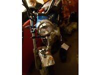 Skyteam monkey bike, 2014 50cc/140cc full mot