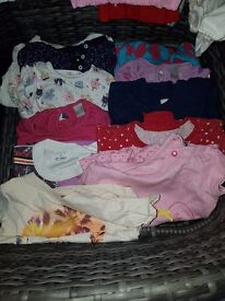 Bundle of baby Girls 9-12 months clothes
