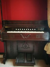 Antique pedal organ. C 1890.