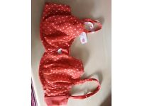 BNWT Bra La Senza 38FF .Red polka dots. Gorgeous and unworn
