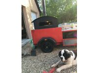 Wood fired pizza trailer, gazebo, all necessary equipment to start your business straight away.