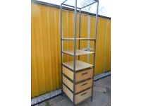 Tall Storage Shelves - - £10 - - -