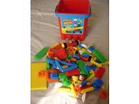 Sticklebricks Junior Builder Tub Construction Toy