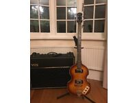 Epiphone viola bass guitar Brand new as in hardly ever used