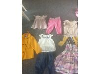 Gorgeous bundle of mostly Next gap and Monsoon clothes aged 5.