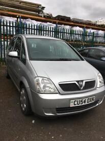 Vauxhall Meriva 1.4i 16v 2004