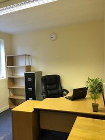 affordable office space in the heart of Mansfield available , Christmas offer now , don't miss out !