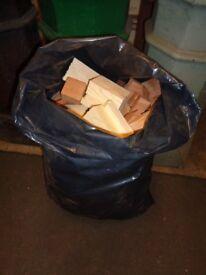 Firewood sacks many available