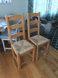 1 x wooden chair