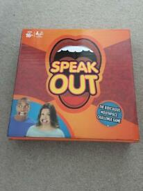 Speak Out Game - New Condition