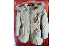 Girls winter jacket age 5